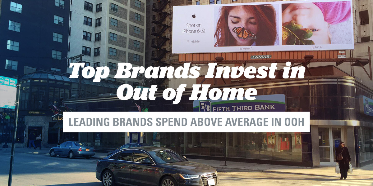 Lamar Advertising Company Top 10 Brands Invest in OOH