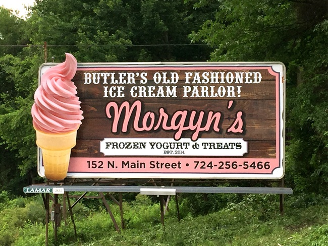 Morgyns Frozen Yogurt Poster Lamar Advertising Pittsburgh