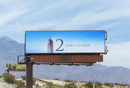 Lamar Remembers 9/11 on Digital Billboards Nationwide