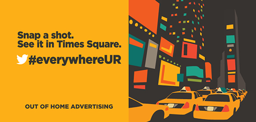 EverywhereUR OOH Campaign