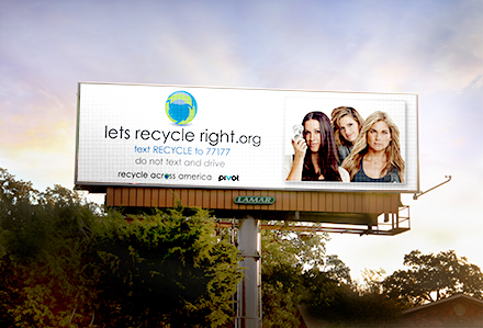 Lamar Advertising Company Recycle Across America PSA