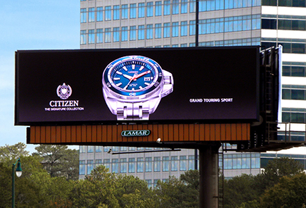 Lamar Advertising Company Digital Billboard