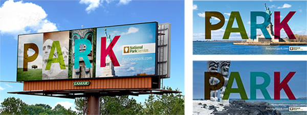 National Park Service Digital Billboards Earth Day