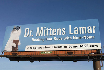 Dr Mittens Lamar Advertising Company