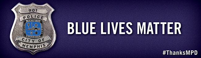 Blue Lives Matter Digital Billboard PSA