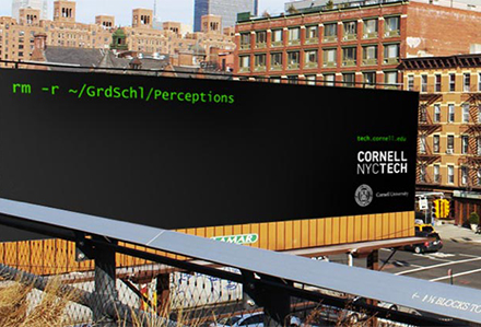 Cornell NYC Tech ad