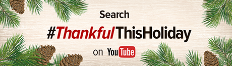 #ThankfulThisHoliday Teaser Creative