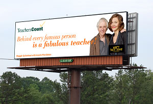 Lamar TeachersCount Billboard